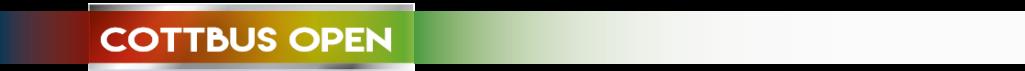Teilnehmerliste Cottbus Open (Stand: 21.03.2016)