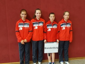 v.l.n.r.: Alina Schön, Lisa Wolschina, Chiara Baltus, Lea Haupt
