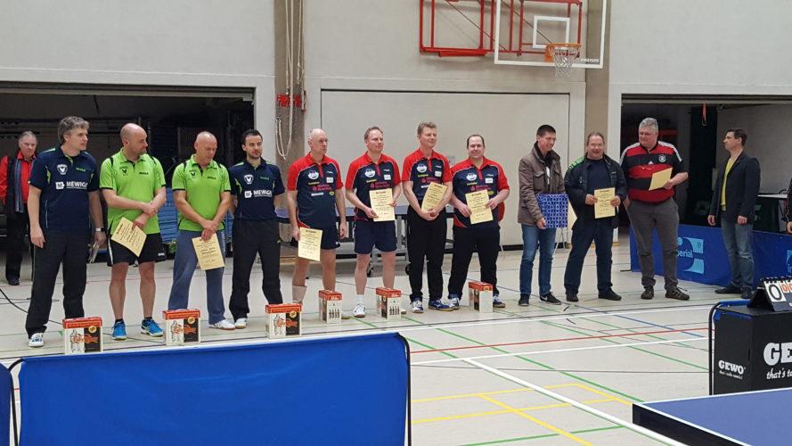 Norddeutscher Vizemeister bei den Mannschaftsmeisterschaften der Ü40-Senioren